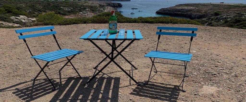 Uitzicht Menorca