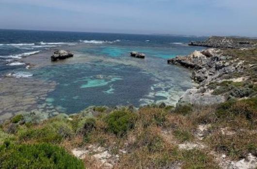 Jeannies Lookout Rottnest Island Australië