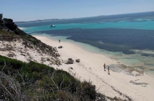 Little Parakeet Bay Rottnest Island Australië