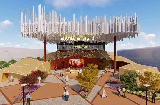 Expo 2020 Australie paviljoen